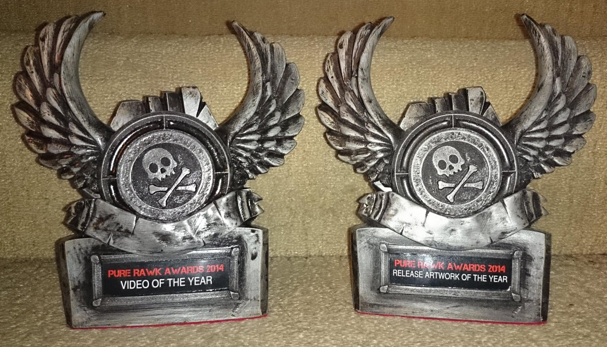 Pure Rawk awards for Best Artwork and Best Video